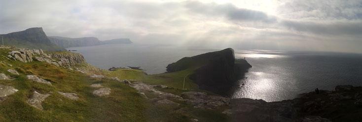 Schottland_Neist Point_Isle of Skye_Die Roadies_Reisetagebuch_Hund_Wohnmobil