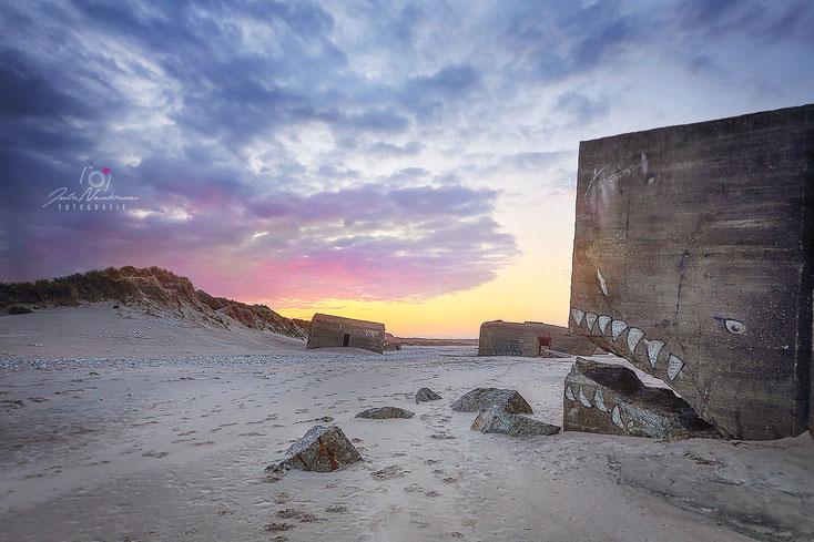 Dänemark_Sonnenaufgang_Vigsø_Vigso Strand_Fotografin Julia Neubauer_die Roadies