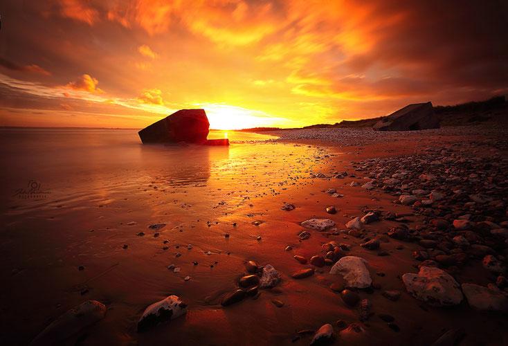 Dänemark_Sonnenaufgang_Vigso Strand_Fotografin Julia Neubauer_die Roadies