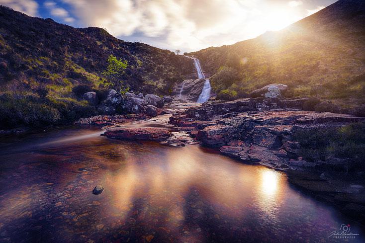 Schottland_Eas a' Bhradain_Isle of Skye_Die Roadies_Wohnmobil_Hund