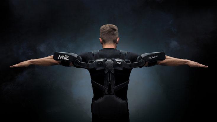 COMAU MATE (Muscular Aiding Tech Exoskeleton)