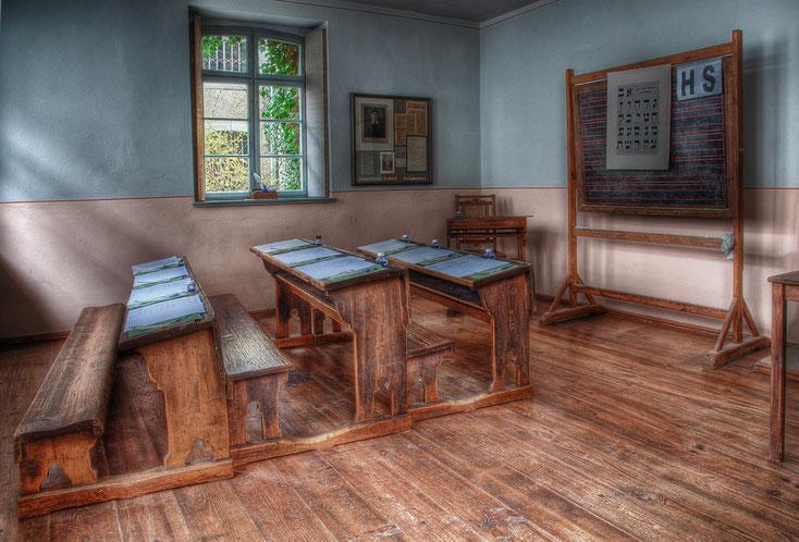 Fotograf: Renschgro, Titel: Museum Synagoge Groebzig, Schule