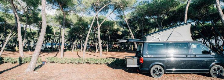 Mit dem Campingbus auf Sardinien