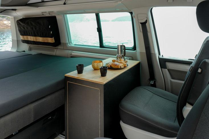 Küchenmodule VW T5 / T6 - calibox - campingbus