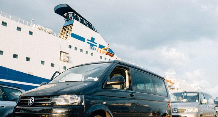 Rückfahrt mit der Fähre von Olbia nach Genua