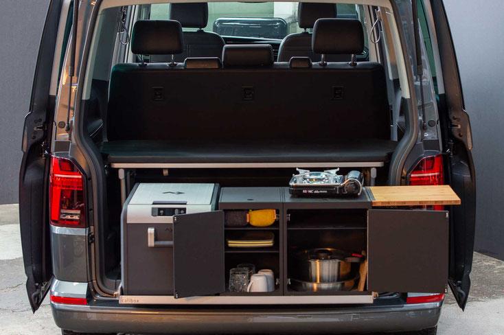 3er sitzbank einzelsitze heckk che compact calibox. Black Bedroom Furniture Sets. Home Design Ideas