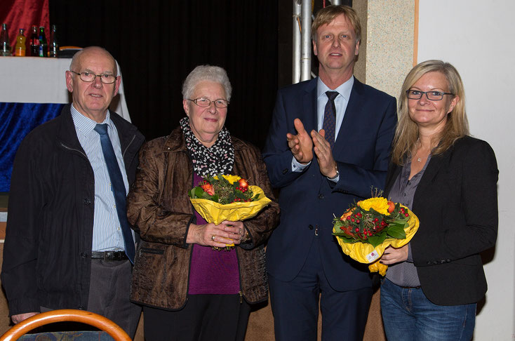 Verabschiedung von Frau Hansen und Begrüßung von Frau Demandt in der Kreisstelle.