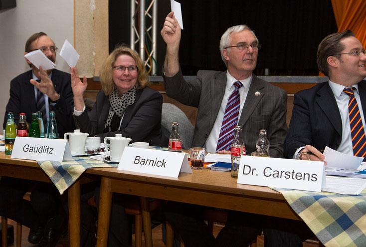 Hans-Heinrich Barnick wieder bestätigt als stellvertretender Vorsitzender des Kreisverbandes.