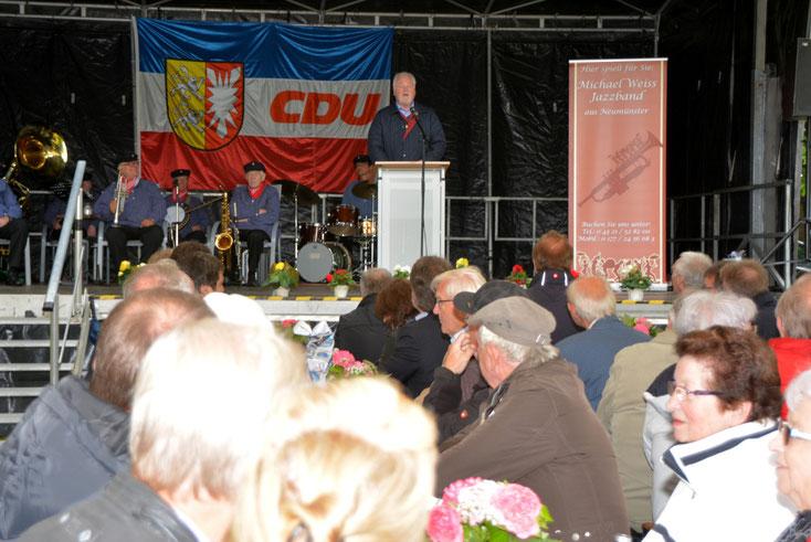 Gastredner Peter-Harry Carstensen sorgte mit seiner Festrede für Unterhaltung.