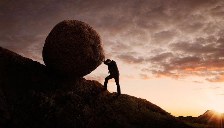 Sisyphusarbeit; Wirtschaftsdetektei Schweiz, Wirtschaftsdetektiv Zürich, Wirtschaftsermittler