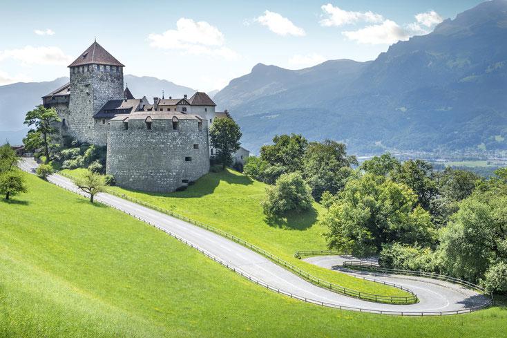 Hohenliechtenstein in Vaduz; Detektei Liechtenstein, Wirtschaftsdetektiv Liechtenstein