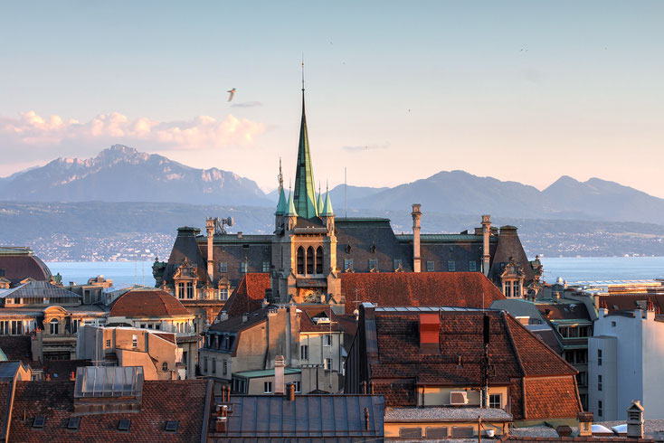 Lausanne Altstadt; Detektei Lausanne, Detektiv Lausanne, Privatdetektiv Lausanne