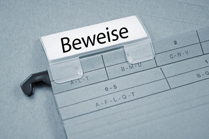 Beweisakte; Detektei Zürich, Detektiv Zürich, Detektei Schweiz, Privatdetektiv Schweiz