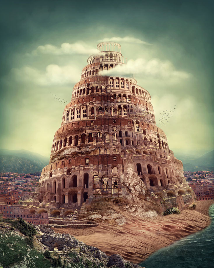 Tower of Babel; Detective Agency Switzerland, Agencia de Detectives Suiza