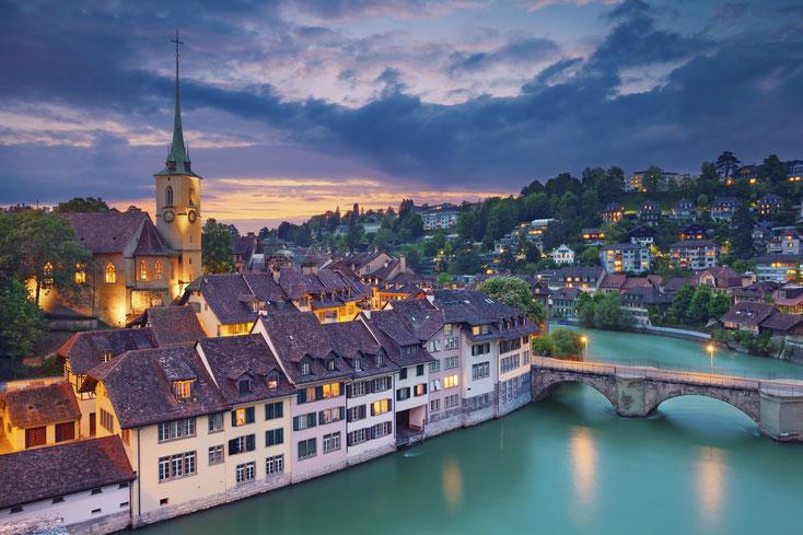 Aare Bern Altstadt; Detektei Bern, Detektiv Bern, Privatdetektiv Bern, Wirtschaftsdetektei Bern