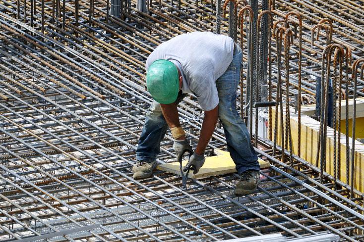 Bauarbeiter Stahlkonstruktion; Sozialdetektiv Schweiz, Sozialdetektei Zürich, Privatdetektiv