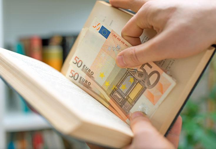 Verstecktes Geld; Unterhaltsbetrug, Alimentenbetrug, Detektei Zürich, Detektiv Schweiz