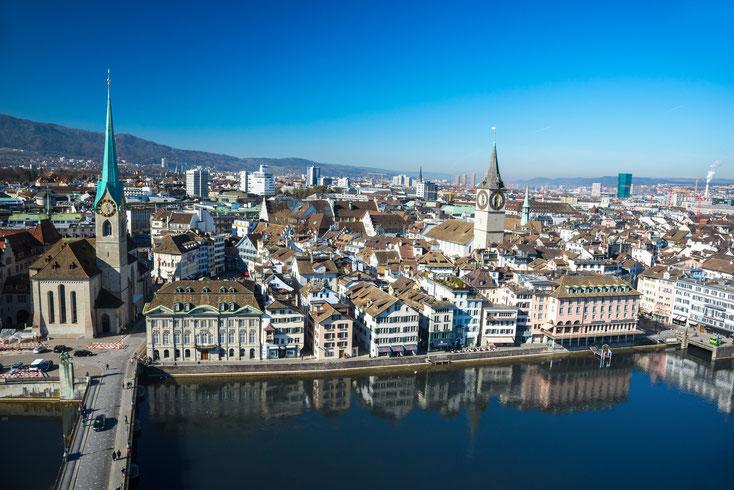 Zürich Innenstadt; Detektiv Zürich, Privatdetektiv Zürich, Detektei Zürich, Detektiv Schweiz