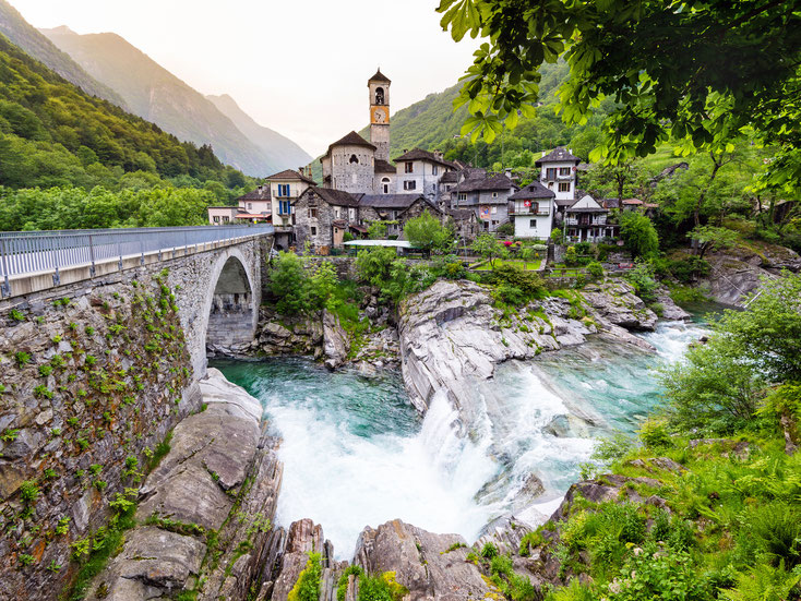 Lavertezzo im Valle Verzasca; Detektei Tessin, Detektiv Tessin, Privatdetektiv Tessin, Detektivbüro