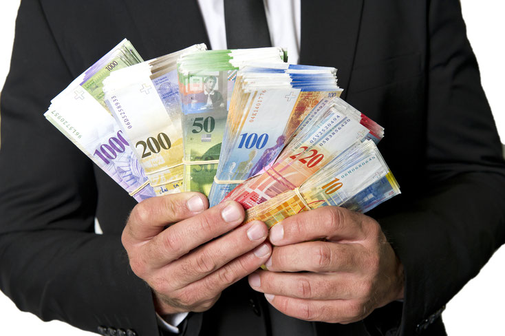 Bestechung in Schweizer Franken; Wirtschaftsdetektei Zürich, Wirtschaftsdetektei Schweiz
