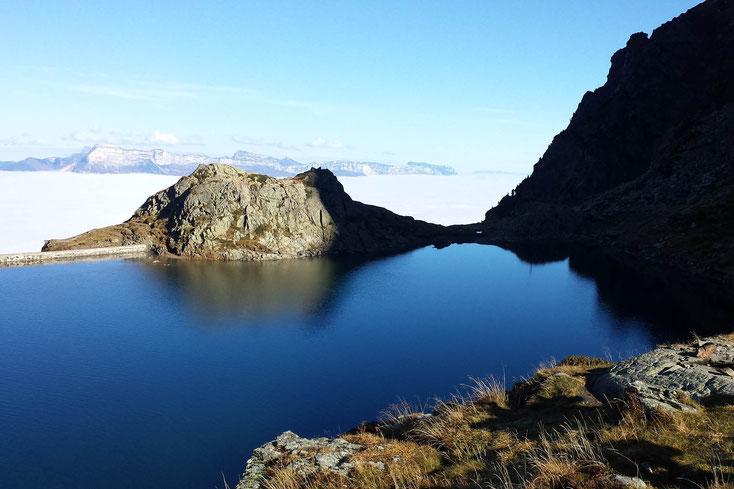 Lac du Crozet, à 2h de Freydières