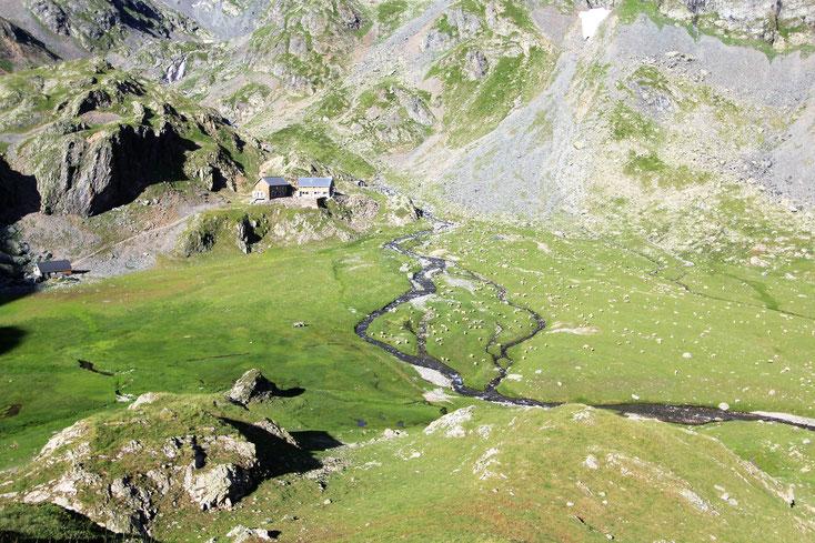 alpage et refuge de la pra