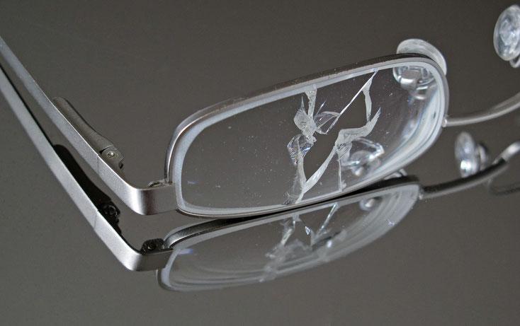zerbrochene Brille; Versicherungsdetektiv Dortmund, Versicherungsdetektei Dortmund