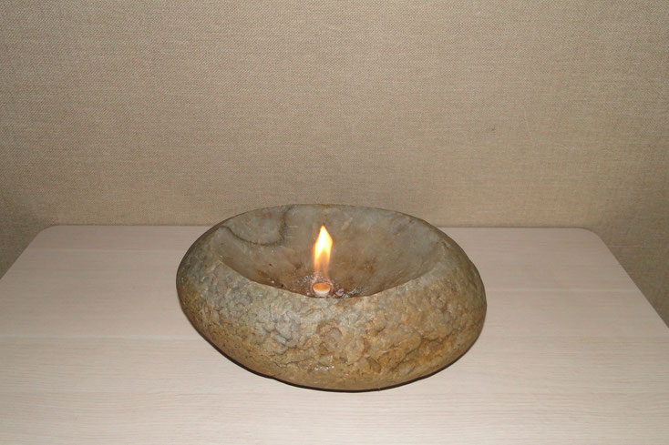 мини камин,камин из камня,горшок из камня