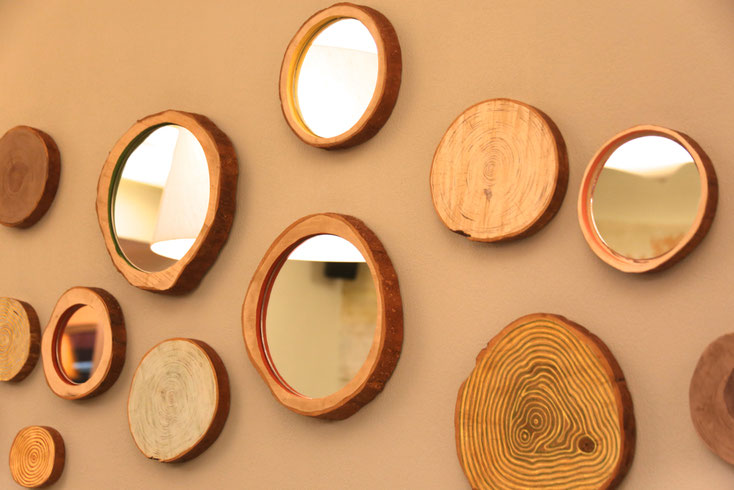 спилы из дерева,срезы из дерева,зеркала из спилов и срезов дерева,пано из спилов