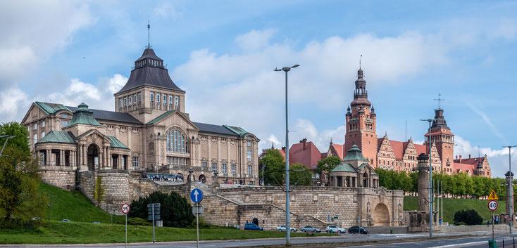Hakenterrasse, Stettin