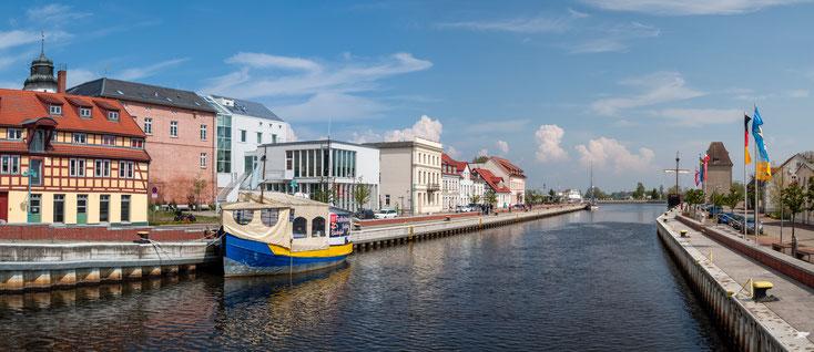 Ueckermünde, Stadthafen