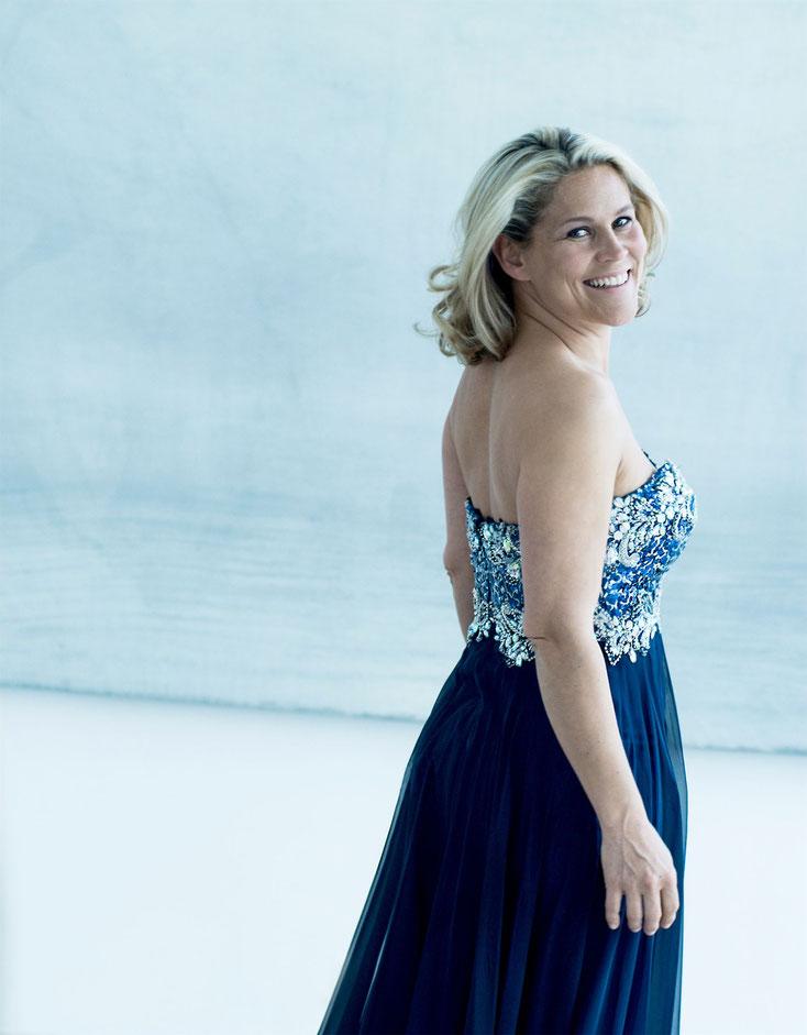 Sopranistin Ursula Langmayr. Foto: Kurt Hörbst