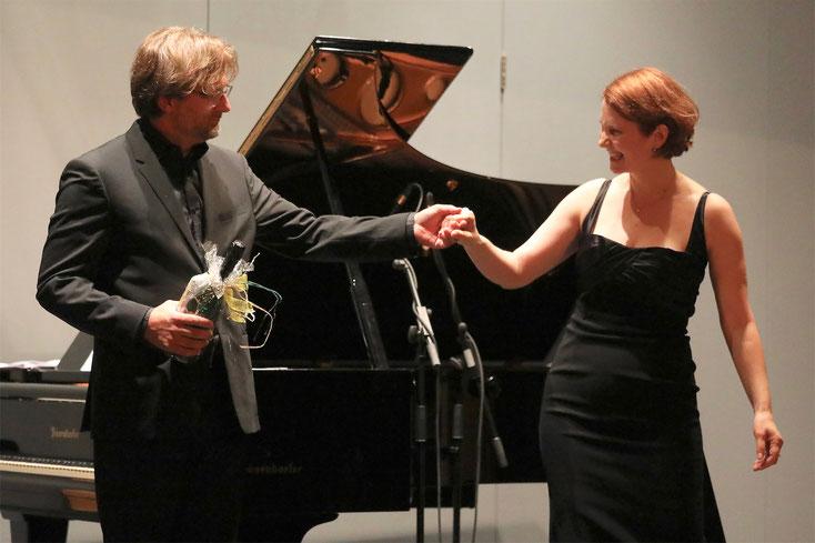 22. September 2018: Die international höchst erfolgreichen Künstler Michaela Selinger und Clemens Zeilinger verzauberten mit einem wunderschönen Liederabend.