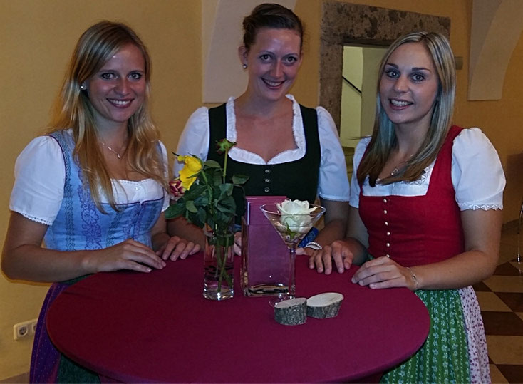 """Der """"Salzach-Dirndl-Dreigsang"""" aus Salzburg ist beim Gunskirchner Weihnachtskonzert  dabei."""