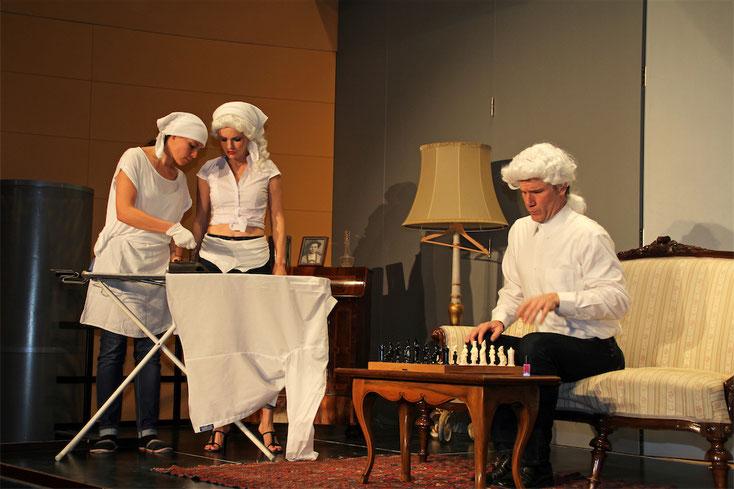 """12. Oktober 2019: Die komische Oper """"La serva padrona"""" – kurzweilig und amüsant!  Foto: G. Paltinger"""