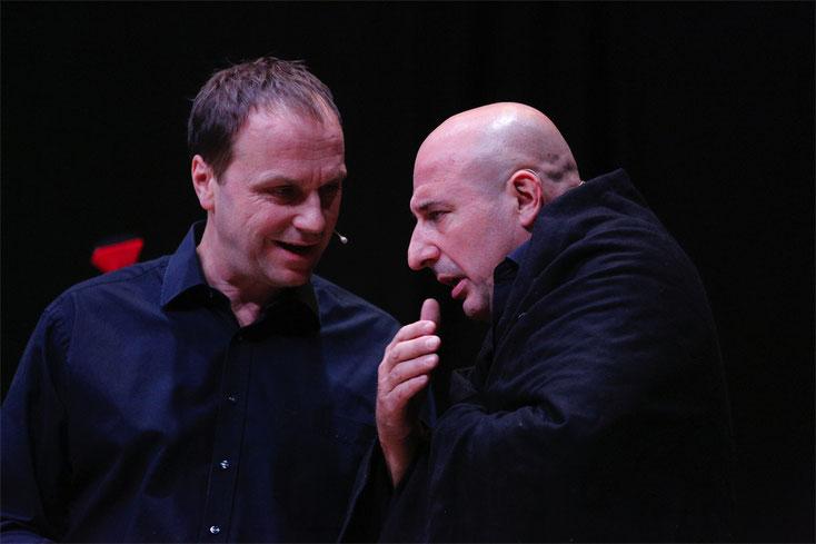 """26. Oktober 2017: Jürgen Vogl und Christoph Fälbl hatten bei """"So oder so"""" die Lacher auf ihrer Seite."""
