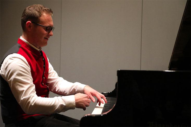 5. Oktober 2017: Ein feiner Klavierabend mit dem Oberösterreicher Stefan Gurtner.