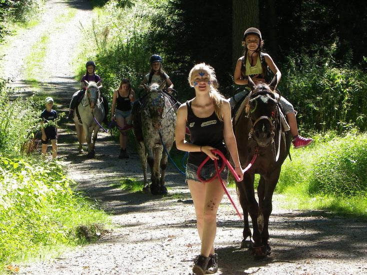 Indianertag in den Sommerferien