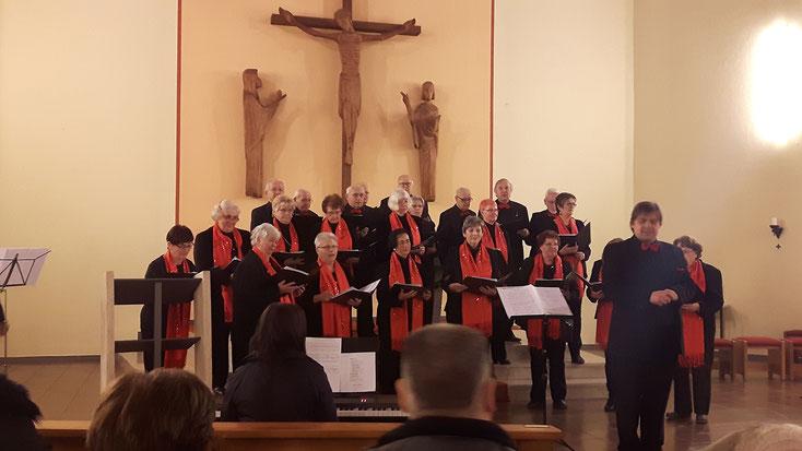 Gemischter Chor beim Adventskonzert 2016