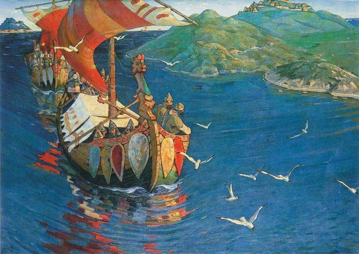 Nicolas Roerich: Les Visiteurs