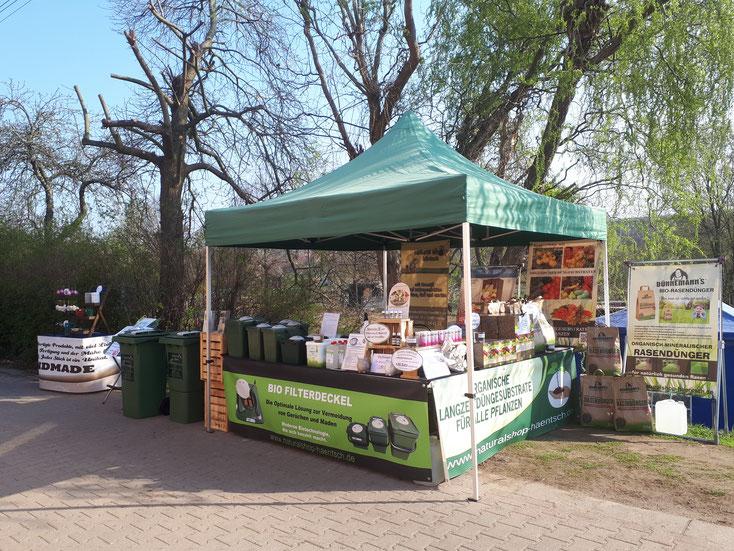 """Bauernmarkt """"Eiermarkt"""" im ELBE-TIER-PARK HEBELEI im April 2019"""