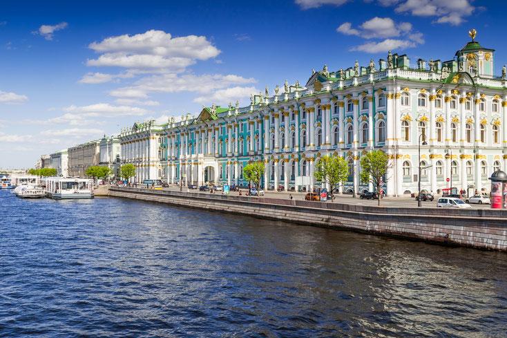 Winterpalast St. Petersburg; Wirtschaftsdetektei Russland, Privatdetektei Russland, Detektiv St. Petersburg
