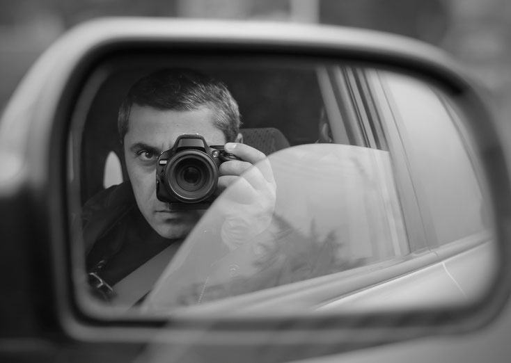 Observierender Detektiv, Kurtz Detektei Berlin