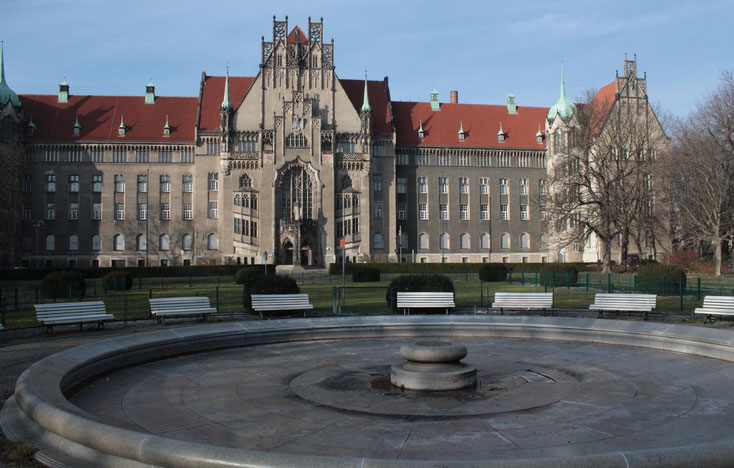 Das Amtsgericht Berlin-Wedding wird häufig von unseren Detektiven besucht, um Zeugenaussagen zu tätigen.