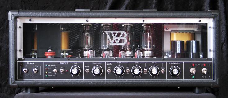 Spectro B200  mit  Aktiv EQ und KT120 Endröhren