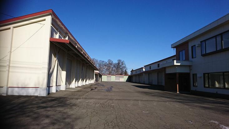 道東運輸㈱第二倉庫全景