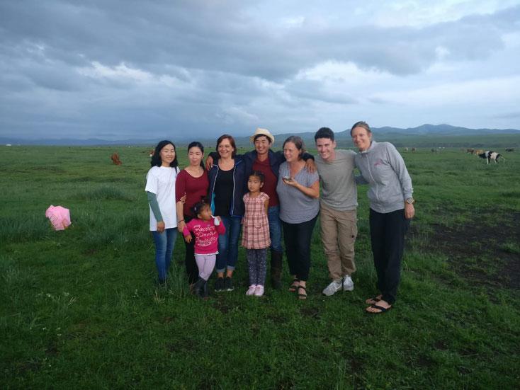 Besuch bei den Nomaden : Wir sind ein beliebtes Fotomotiv