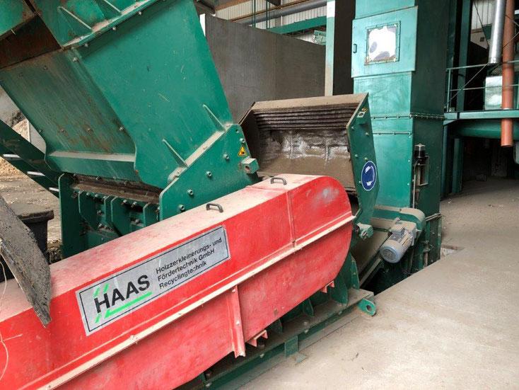 Außergewöhnlich HAAS Hammermühle HSZ-V1300 gebraucht - Pusch & Schinnerl GmbH @WG_42