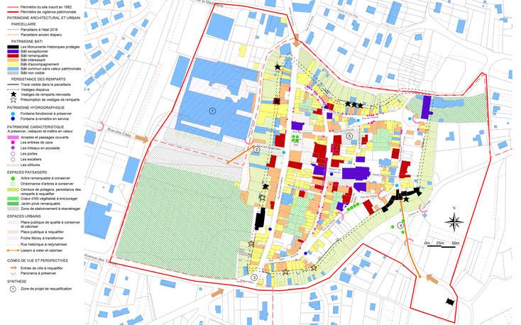 Proposition de plan de vigilence sur le centre bourg.