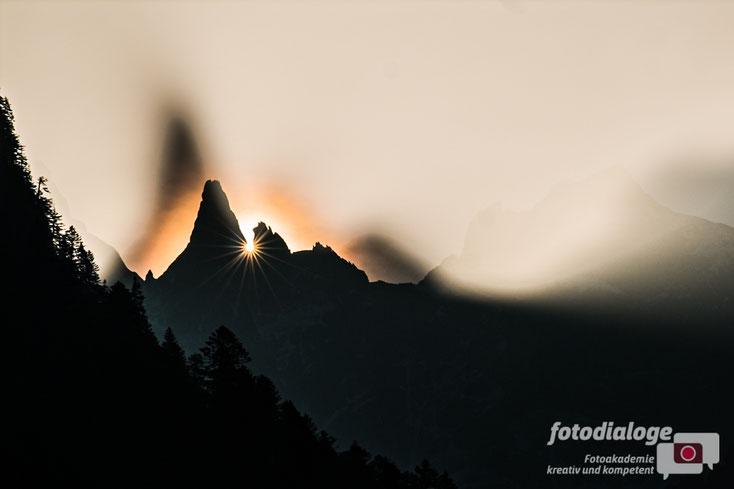 Zur Fotografie im Herbst gehören mystische Nebelstimmung bei Sonnenaufgang, mein Tipp, wie diese gelingen